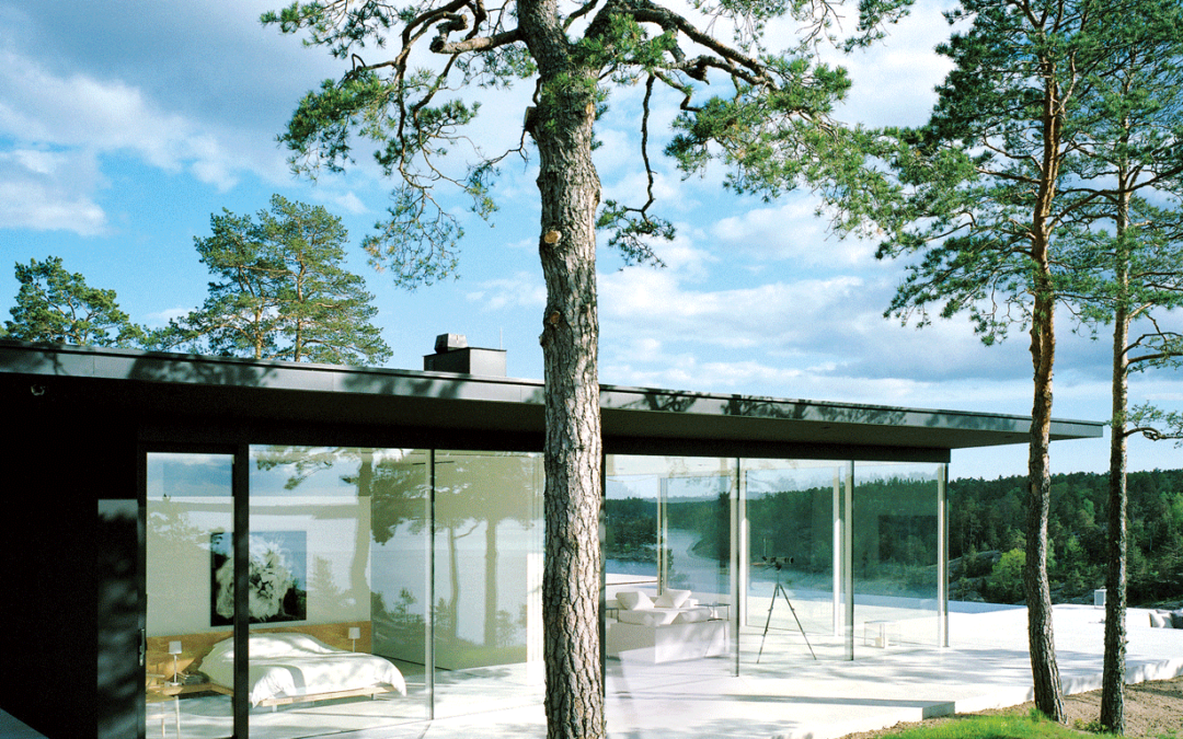 Opvarmende glas – Glarmester Chr. Aarslev, Aarhus